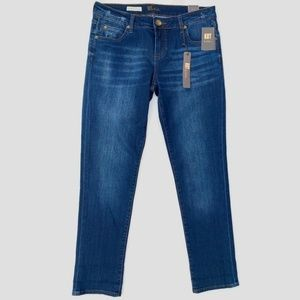 Kut Kloth Catherine Boyfriend Jeans Distressed 6